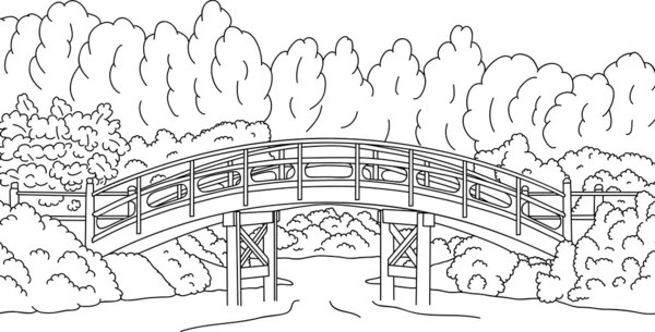 pont japonais images vectorielles pont