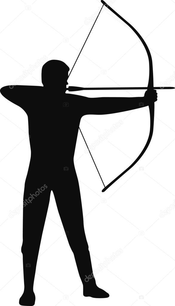 Archer bowman Stock Vector scusi09 2931837