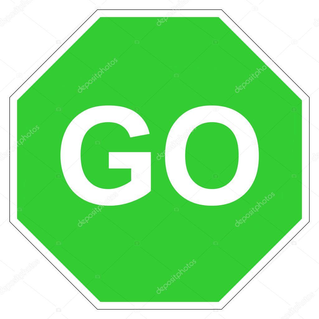 green go sign u2014 stock photo u00a9 speedfighter17 3897158