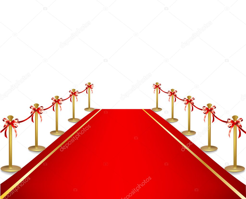 94 Prozent Bild Roter Teppich A Red Carpet And Velvet Rope Vector Stock Vector
