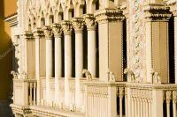 Venetian Style Balcony Columns  Stock Photo  mdilsiz ...