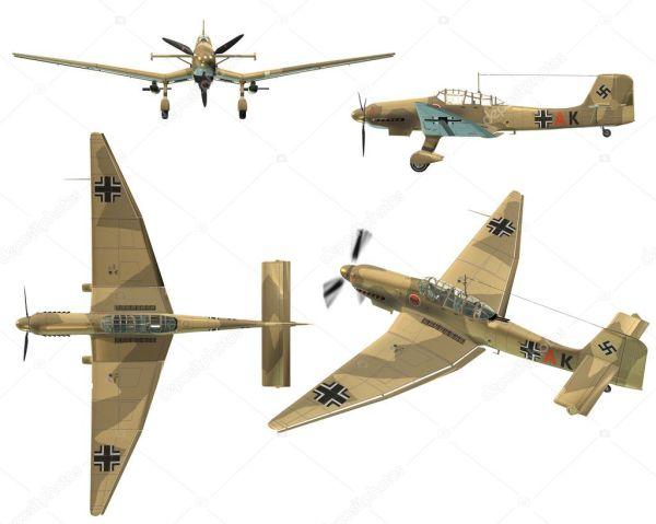 ju87d stuka - dive bomber