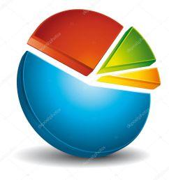 colorful 3d circular diagram stock vector [ 972 x 1023 Pixel ]