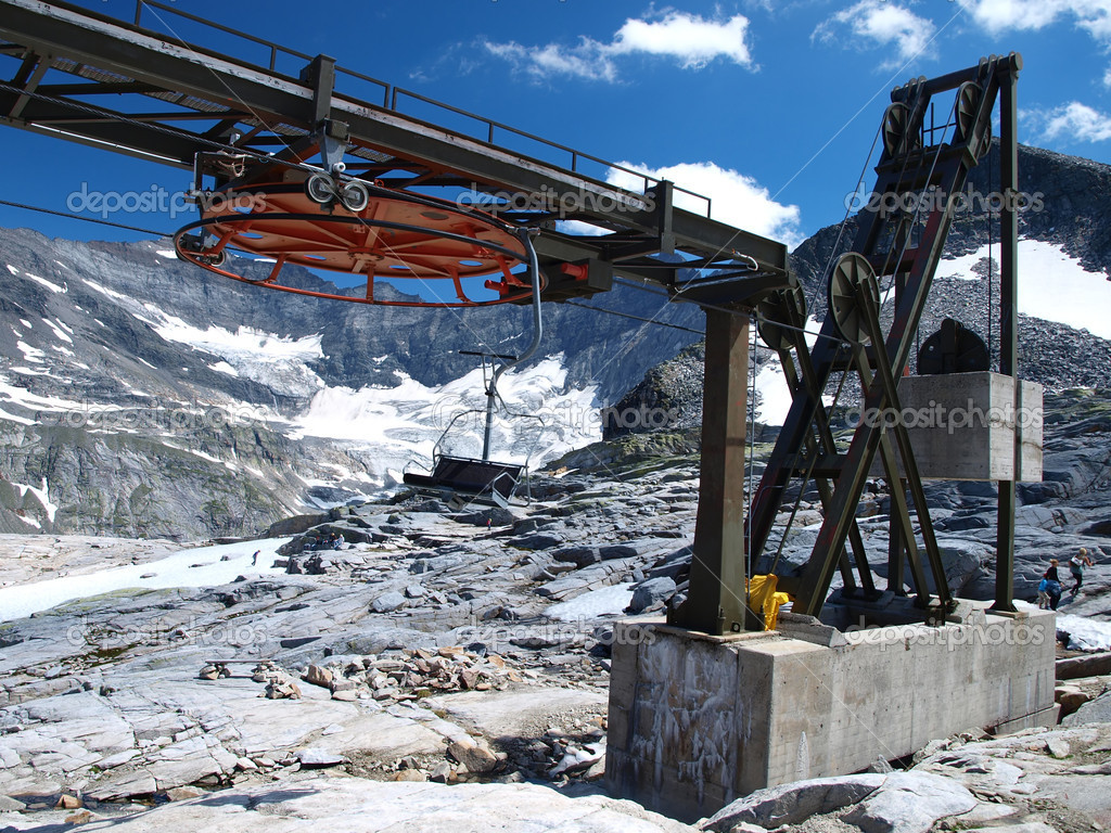 buy ski lift chair replacement slings in summer  stock photo rparys 3789010