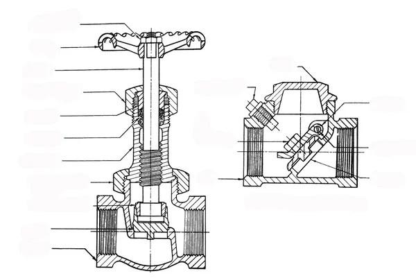 Engineering mechanical part — Stock Photo © ruhaizal #3480480