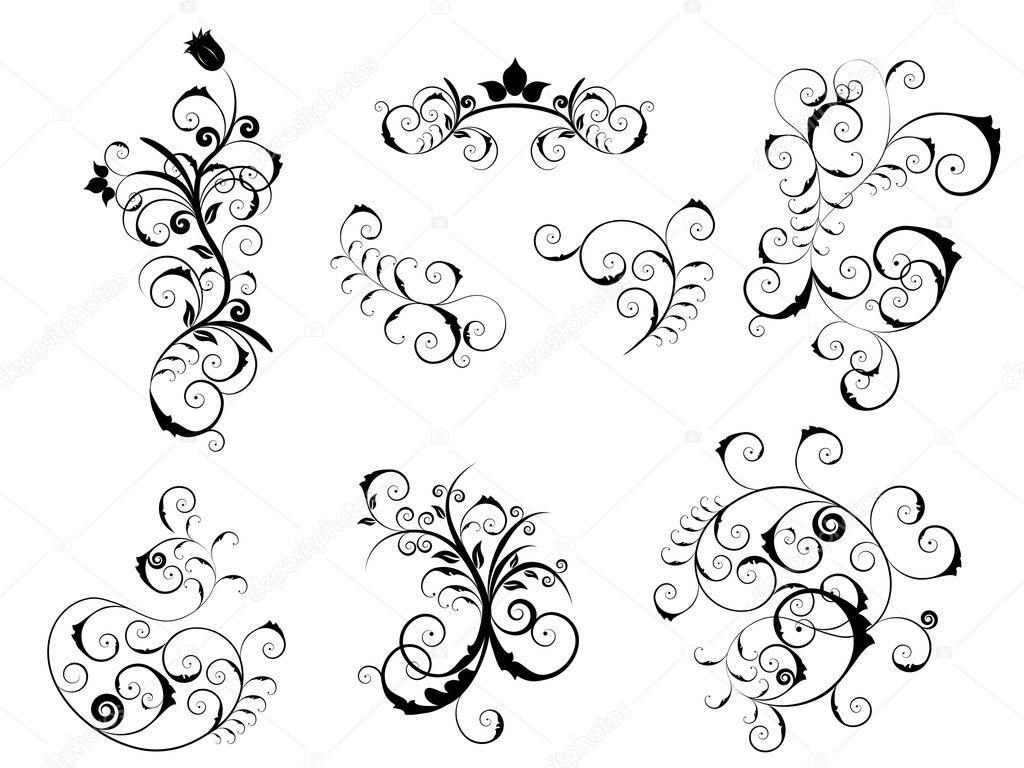 Conjunto De Elementos Victorianos