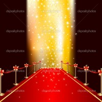 Red carpet  Stock Vector  -Aqua- #3676473