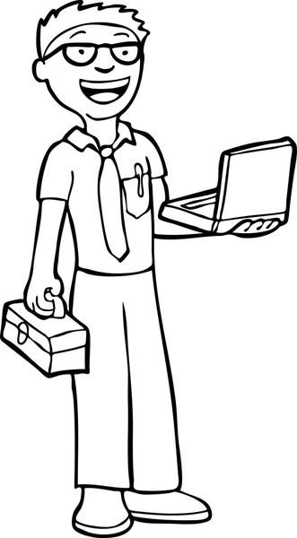 Computer Technician Vector ~ Computer Technician Today