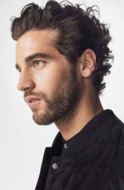 men curly hairstyles