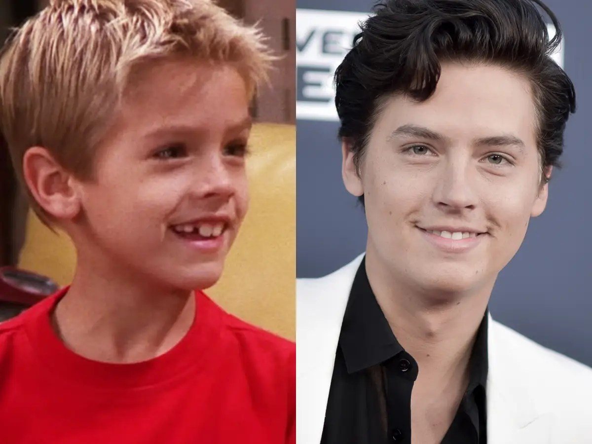 cole sprouse ben friends then and now