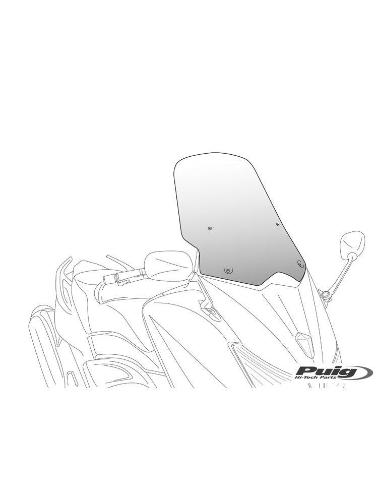 V-Tech Line Touring PUIG for Yamaha X-Max 125/250 Moto