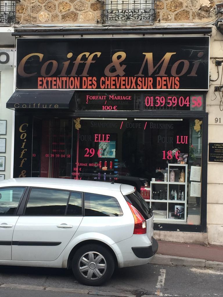 COIFF ET MOI  Coiffeur 89 rue Gnral Leclerc 95600 Eaubonne  Adresse Horaire