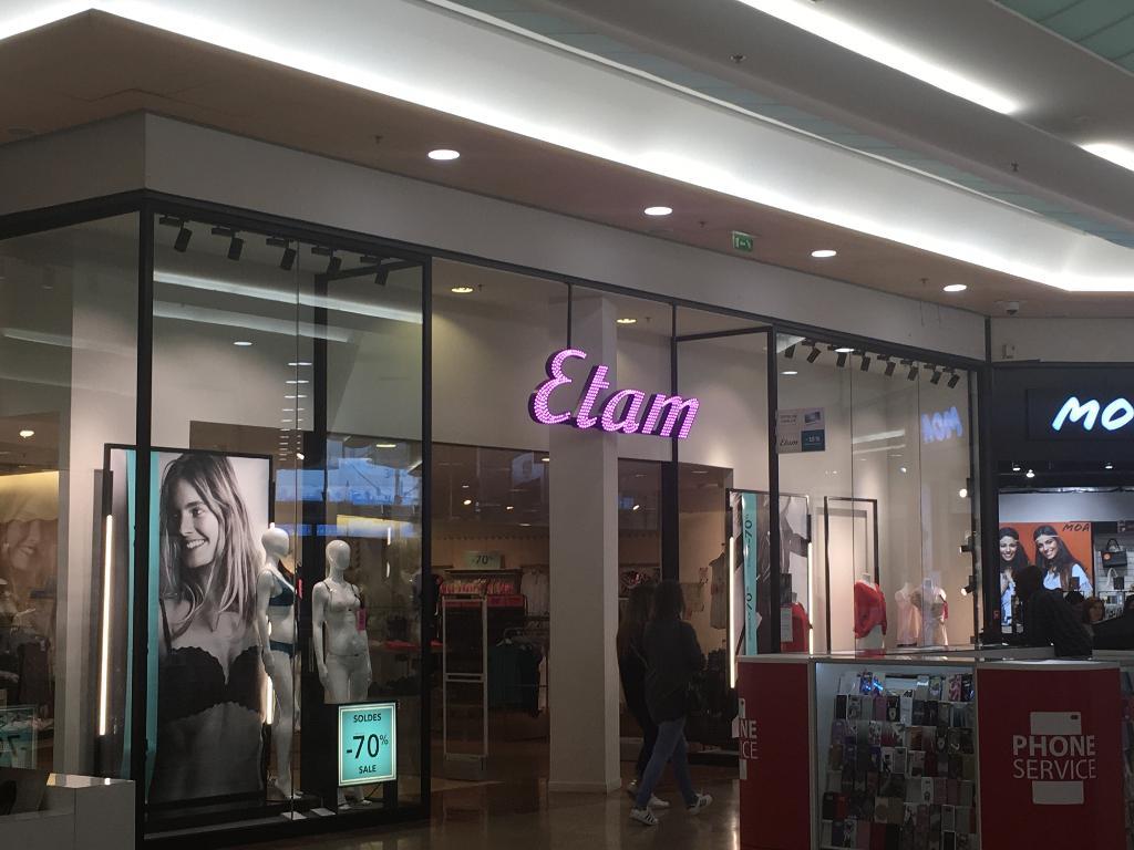 Etam Prt Porter Vtements Femme Centre Commercial