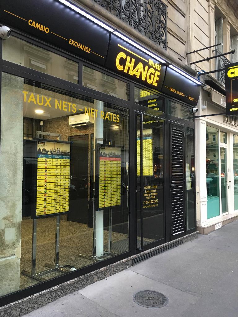 multi change bureau de change 7 rue marbeuf 75008 paris
