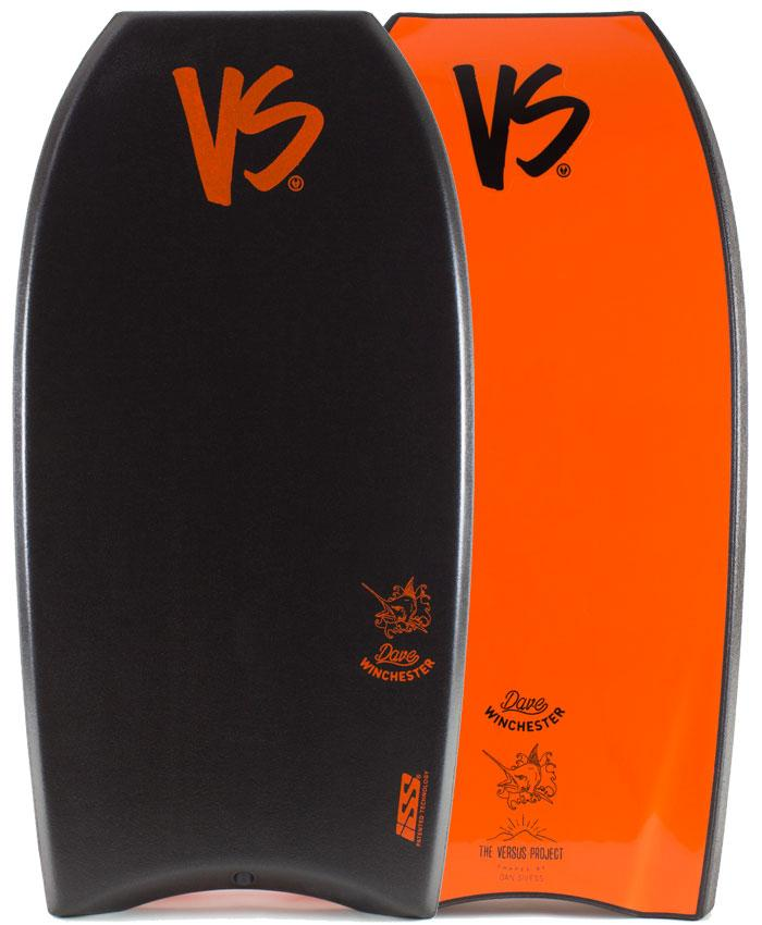 VS BODYBOARDS Dave Winchester ISS Polypro Core Bodyboard