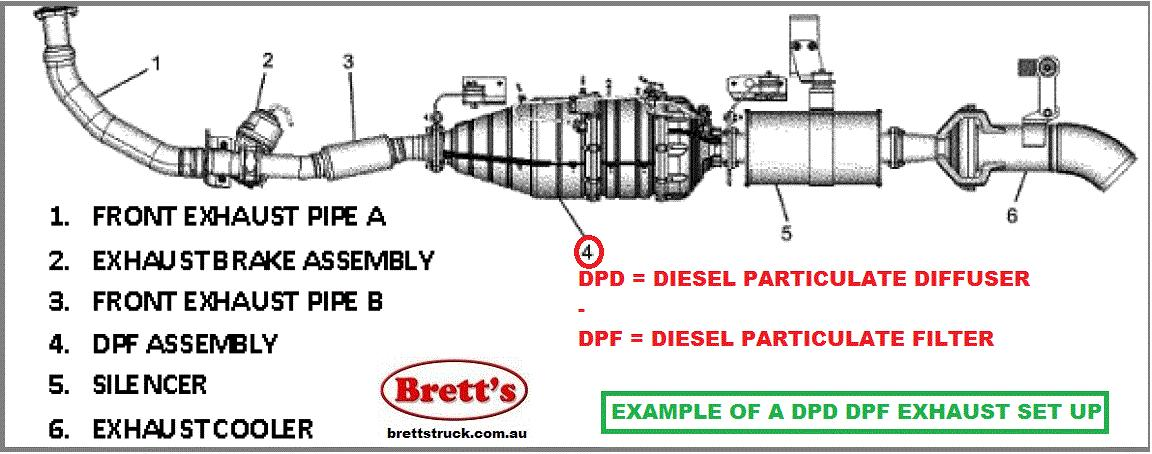 1999 toyota camry exhaust system diagram volkswagen beetle wiring free for you 14802 000 dpd dpf asm assy assembly diesel particulte 2 complete