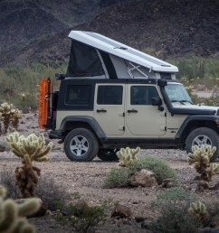the jeep with popup j30 camper [ 1440 x 960 Pixel ]