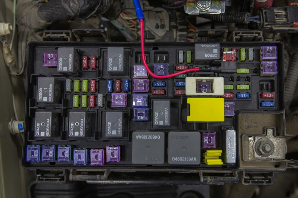 medium resolution of diy jeep wrangler jk isolated dual batteries the road chose me 92 jeep wrangler fuse box