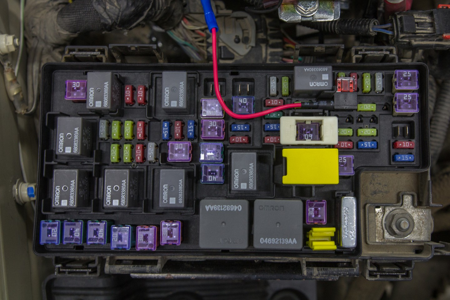 hight resolution of mini add a circuit fuse holder in the jk fuse box