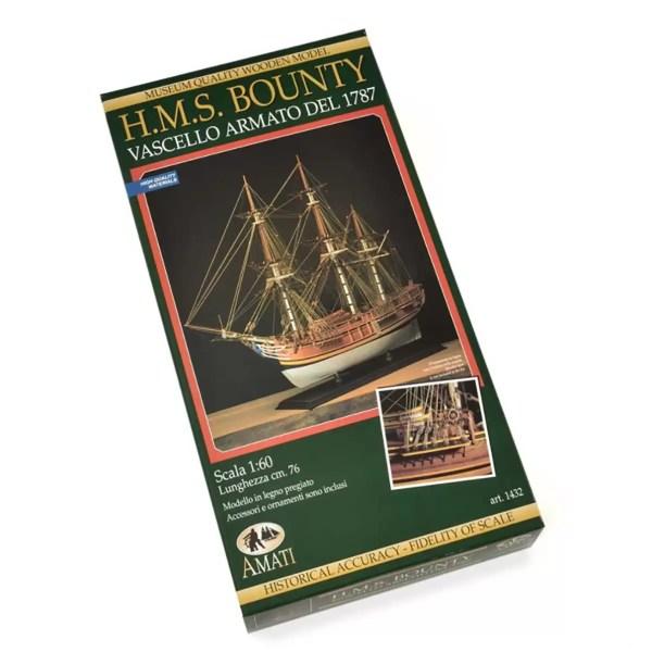 H.M.S. Bounty hajómakett építőkészlet Amati