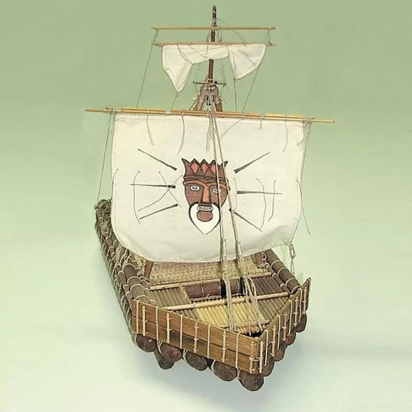 Kon-Tiki hajómakett építőkészlet Mantua