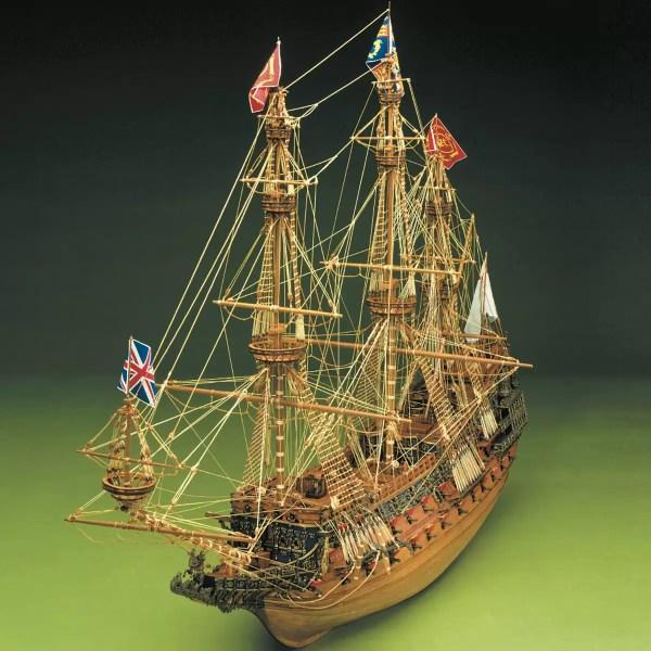 Sovereign of the Seas hajómakett építőkészlet Sergal