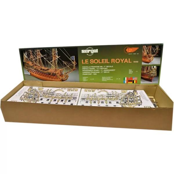 Soleil Royale hajómakett építőkészlet Sergal