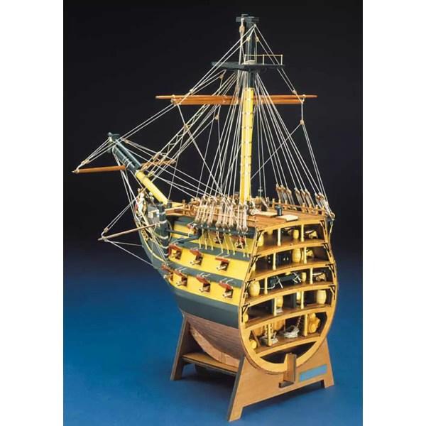 HMS Victory Orr metszet építőkészlet Panart