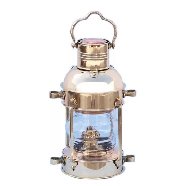 Olajlámpa réz 24 cm Lámpa