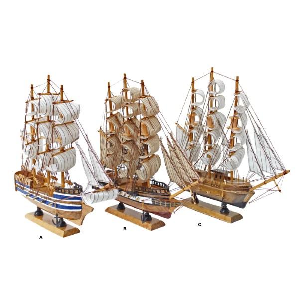 Optimist mini makett L12 Balatoni hajómakett