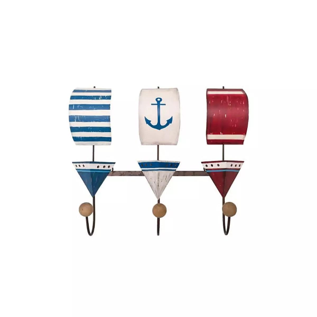 Fogas vitorlás flotta 3 akasztóval Fogas, akasztó