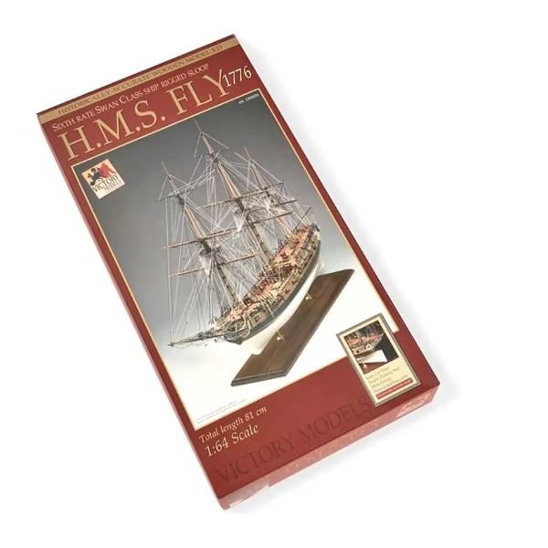 H.M.S. Fly hajómakett építőkészlet Victory Models