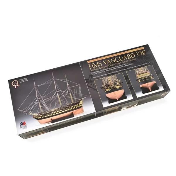 H.M.S. Vanguard hajómakett építőkészlet Victory Models