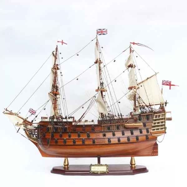 HMS Victory makett Történelmi makett