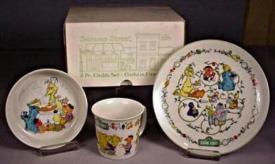 Sesame Street dinnerware (Gorham)