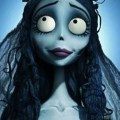 Emily played by helena bonham carter the corpse bride is the very