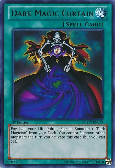 Dark Magic Curtain  YuGiOh  Its time to Duel