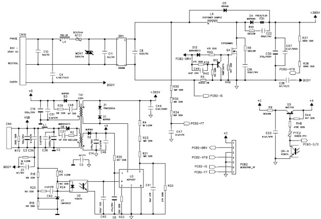 1000w Dell Power Supply Wiring Diagram Tnd313 D Reference Design Ac To Dc Multi Output Power
