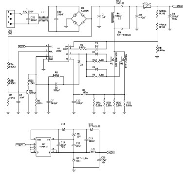 2 Ballast With 4 Lamps Wiring Diagram An2747 Reference Design Electronic Ballast Lamp Driver