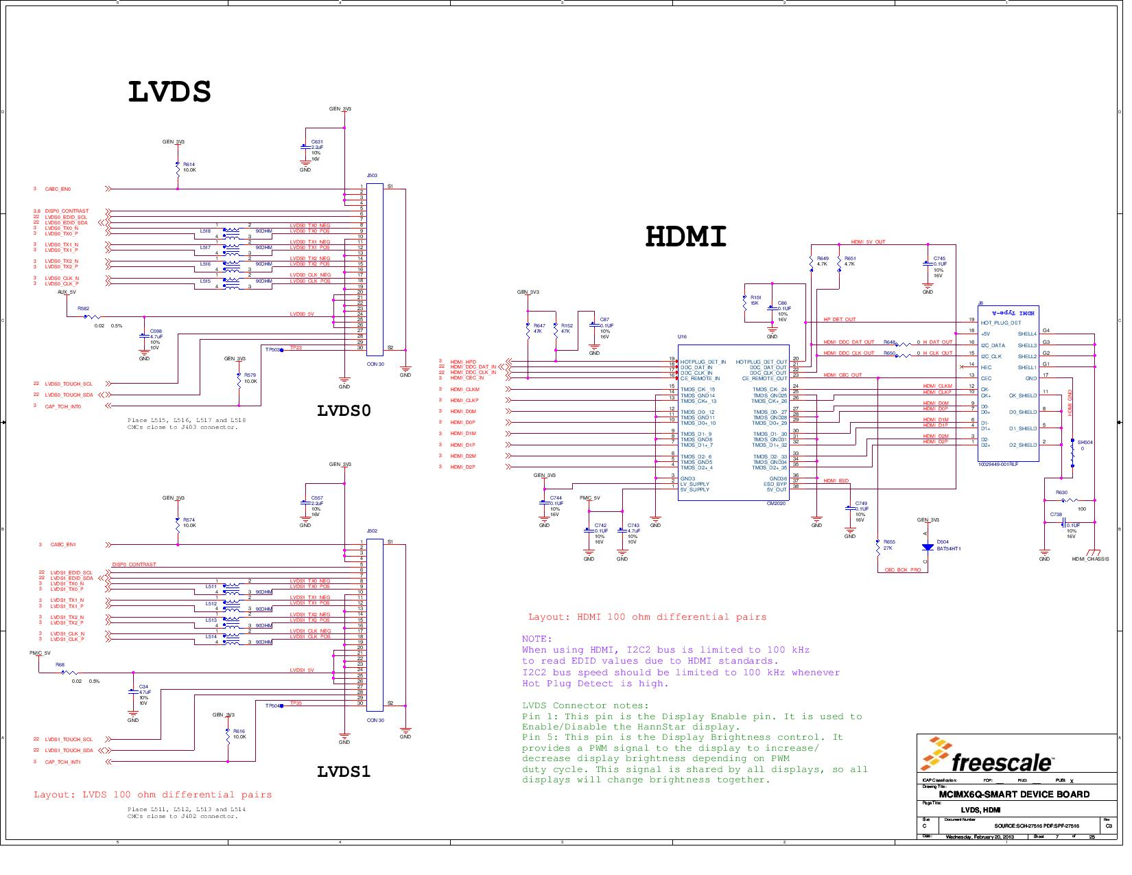 hight resolution of mcimx6q sdb reference design application processor arrow com kits further dvi to hdmi pinout schematic on hdmi to lvds schematic