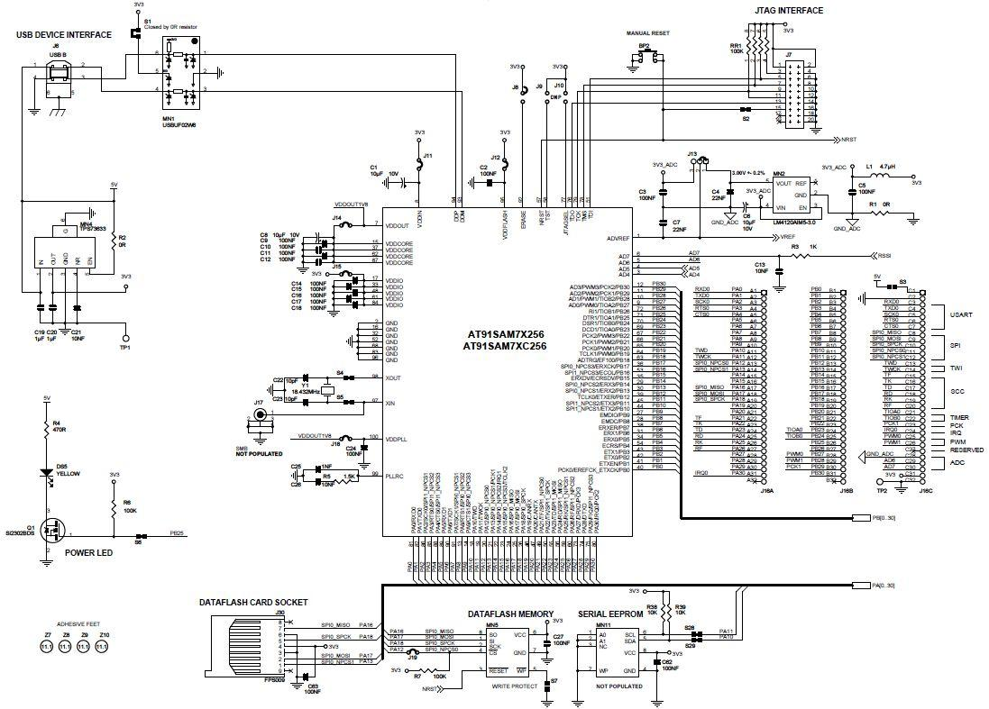 8 Bit Cpu Schematic