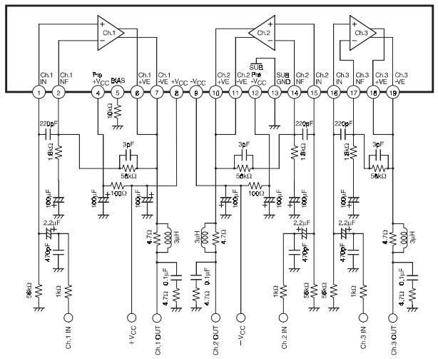 STK402-240_Typical Application Diseños de referencia