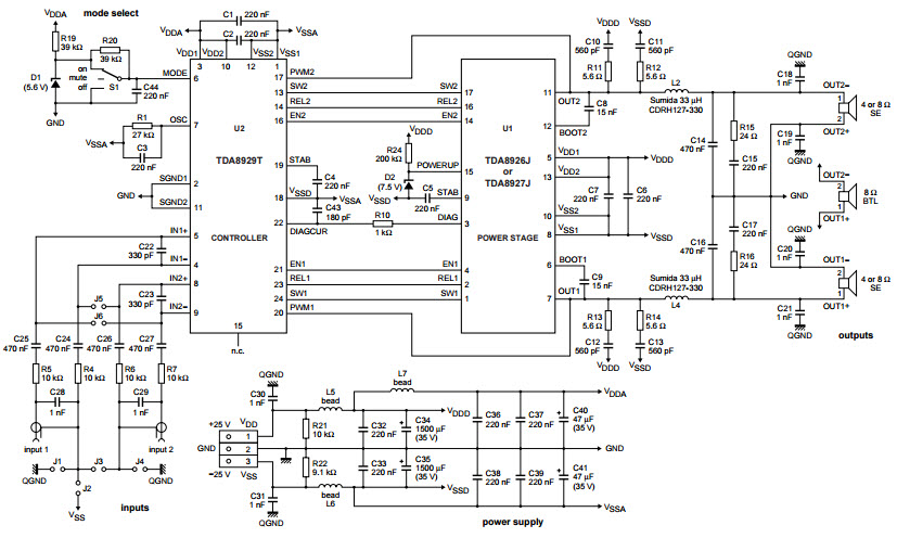 Amplifier Electronics Audio Circuit t