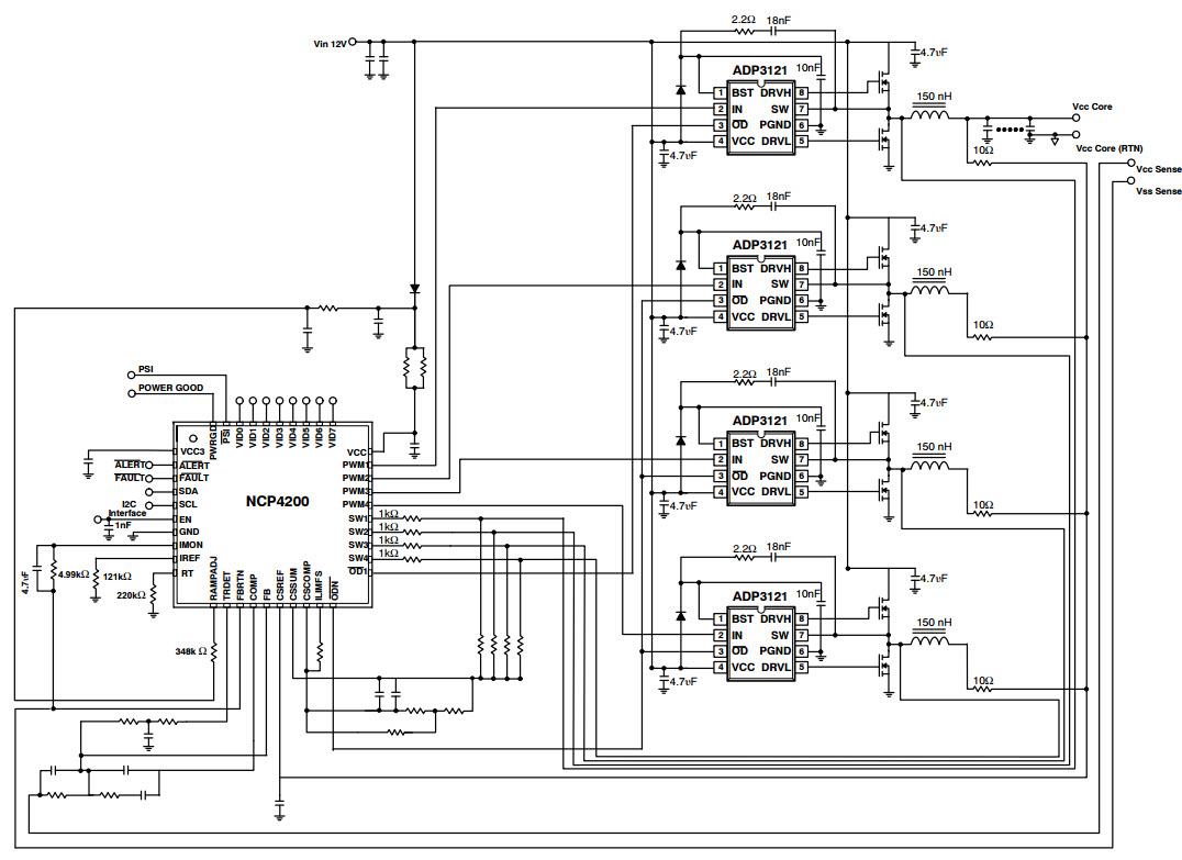 phase converter schematic