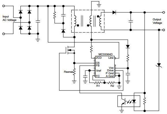 MC33364_Typical Application Progetto di riferimento