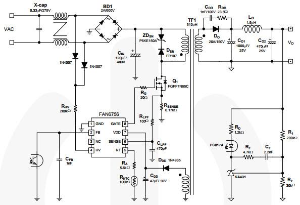power mosfet pc fan control