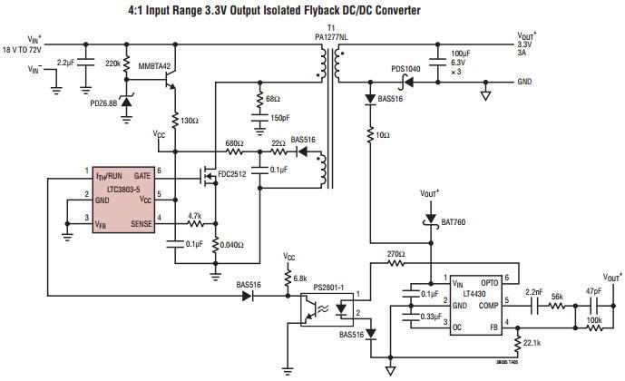 schematic dc dc converter