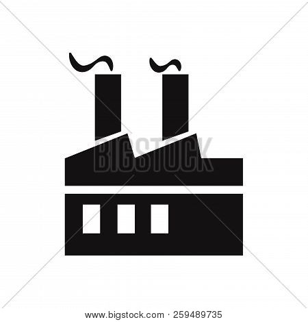 factory icon isolated on