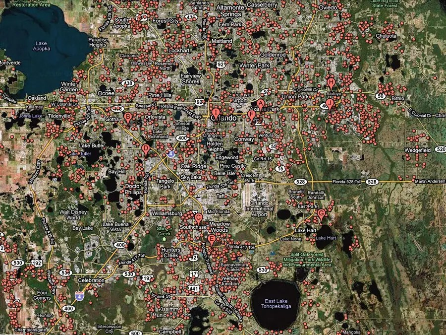 Orlando -- 1 in 15 homes in foreclosure