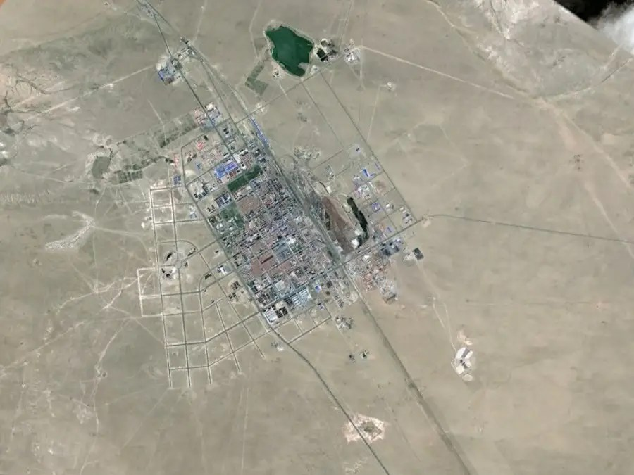 ERENHOT was built in the middle of a desert in Inner Mongolia